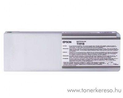 Epson T5918 matt fekete black eredeti tintapatron C13T591800 Epson Stylus Pro 11880 tintasugaras nyomtatóhoz