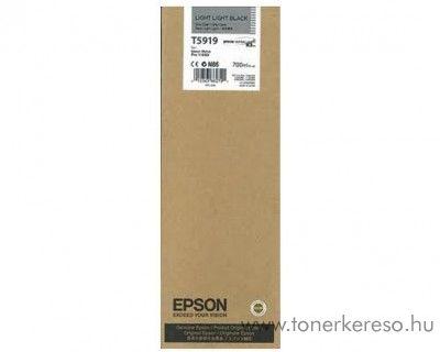 Epson T5919 light light black eredeti tintapatron C13T591900 Epson Stylus Pro 11880 tintasugaras nyomtatóhoz