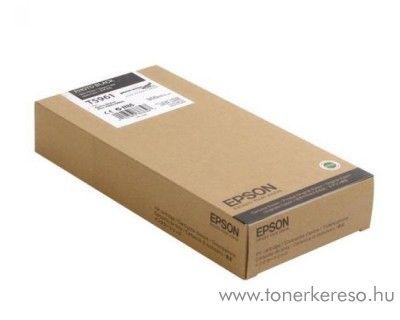 Epson T5961 photo fekete black eredeti tintapatron C13T596100 Epson Stylus Pro 7900 Spectro Proofer UV tintasugaras nyomtatóhoz