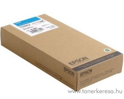 Epson T5962 eredeti cyan tintapatron C13T596200 Epson Stylus Pro 9890 SpectroProofer UV tintasugaras nyomtatóhoz