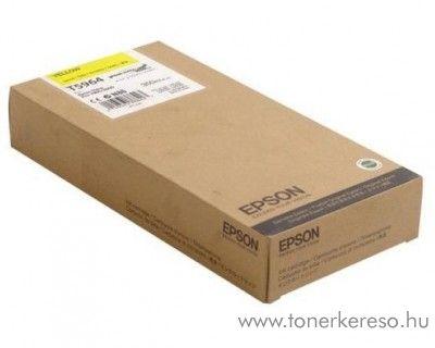 Epson T5964 eredeti yellow tintapatron C13T596400 Epson Stylus Pro 9890 SpectroProofer UV tintasugaras nyomtatóhoz