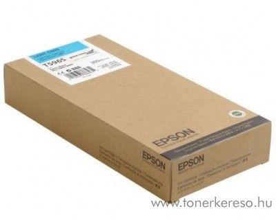 Epson T5965 eredeti light cyan tintapatron C13T596500 Epson Stylus Pro 9890 SpectroProofer UV tintasugaras nyomtatóhoz