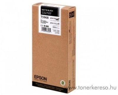 Epson T5968 eredeti matt fekete black tintapatron C13T596800 Epson Stylus Pro 9890 tintasugaras nyomtatóhoz