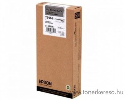 Epson T5969 eredeti light black tintapatron C13T596900