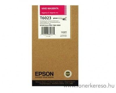 Epson T6023 eredeti photo magenta tintapatron C13T602300 Epson Stylus Pro 7880 tintasugaras nyomtatóhoz
