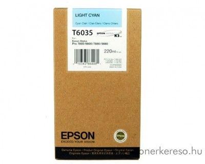 Epson T6035 light cyan eredeti nagykap. tintapatron C13T603500