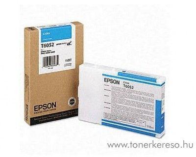 Epson T6052 eredeti cyan tintapatron C13T605200 Epson Stylus Pro 4800 tintasugaras nyomtatóhoz