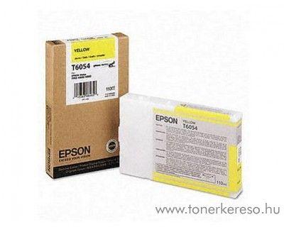 Epson T6054 eredeti yellow tintapatron C13T605400 Epson Stylus Pro 4880 tintasugaras nyomtatóhoz
