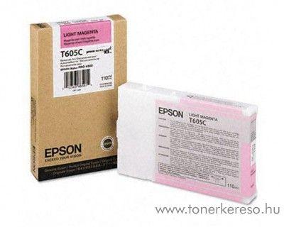 Epson T605C eredeti light magenta tintapatron C13T605C00 Epson Stylus Pro 4800 tintasugaras nyomtatóhoz