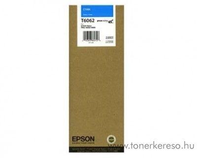 Epson T6062 eredeti cyan tintapatron C13T606200 Epson Stylus Pro 4800 tintasugaras nyomtatóhoz