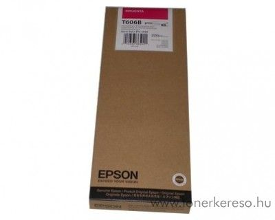 Epson T606B eredeti magenta tintapatron C13T606B00 Epson Stylus Pro 4800 tintasugaras nyomtatóhoz