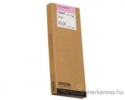 Epson T606C eredeti light magenta tintapatron C13T606C00 Epson Stylus Pro 4800 tintasugaras nyomtatóhoz