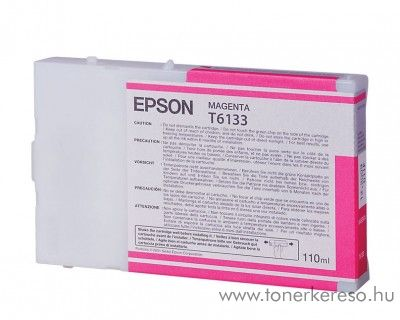 Epson T6133 eredeti magenta tintapatron C13T613300  Epson Stylus Pro 4400 Photo Black Edition tintasugaras nyomtatóhoz