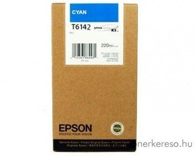 Epson T6142 eredeti cyan tintapatron C13T614200 Epson Stylus Pro 4000-C8 tintasugaras nyomtatóhoz