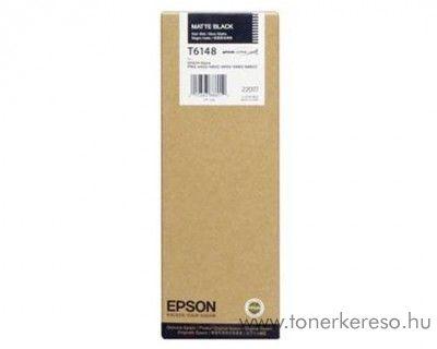 Epson T6148 eredeti matt fekete black tintapatron C13T614800  Epson Stylus Pro 4400 Photo Black Edition tintasugaras nyomtatóhoz