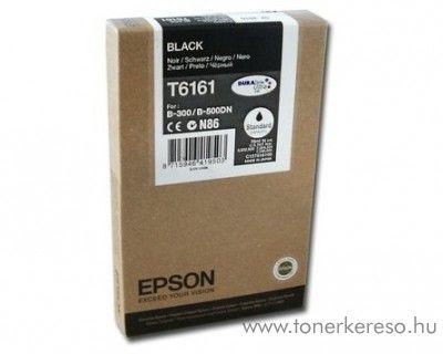 Epson T6161 eredeti fekete black tintapatron C13T616100 Epson Business inkjet B500DN tintasugaras nyomtatóhoz
