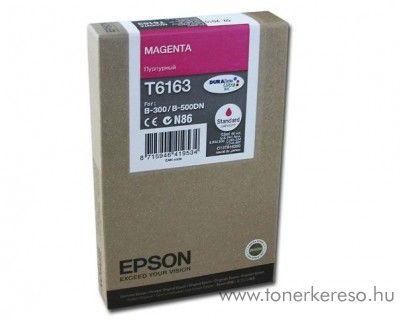 Epson T6163 eredeti magenta tintapatron C13T616300 Epson Business inkjet B500DN tintasugaras nyomtatóhoz