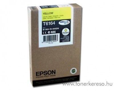 Epson T6164 eredeti yellow tintapatron C13T616400 Epson Business inkjet B-500DN tintasugaras nyomtatóhoz