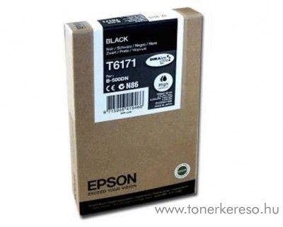 Epson T6171 eredeti fekete black high tintapatron C13T617100 Epson Business inkjet B500DN tintasugaras nyomtatóhoz