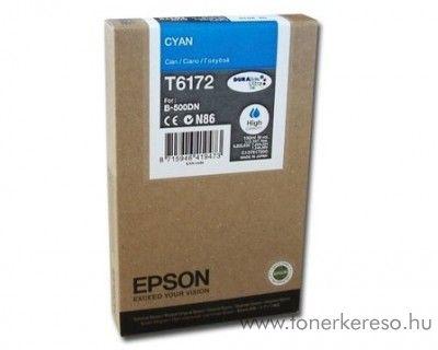 Epson T6172 eredeti cyan high tintapatron C13T617200 Epson Business inkjet B-500DN tintasugaras nyomtatóhoz