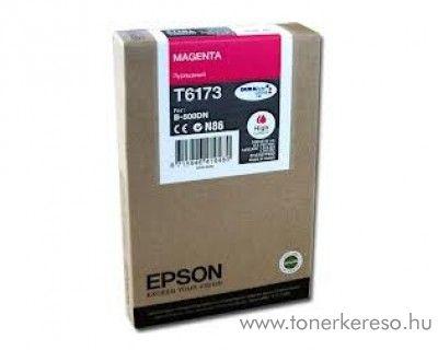 Epson T6173 eredeti magenta high tintapatron C13T617300 Epson Business inkjet B500DN tintasugaras nyomtatóhoz