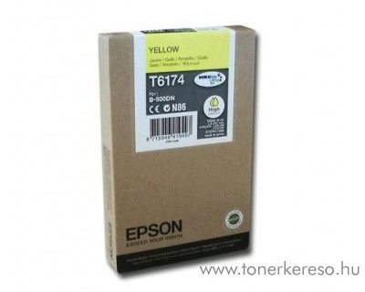 Epson T6174 eredeti yellow high tintapatron C13T617400