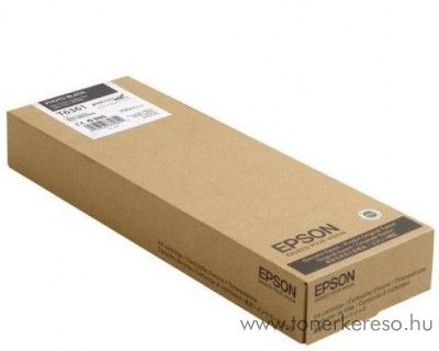 Epson T6361 eredeti photo fekete black tintapatron C13T636100 Epson Stylus Pro 7900 Spectro Proofer UV tintasugaras nyomtatóhoz