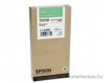 Epson T653B eredeti green tintapatron C13T653B00 Epson Stylus Pro 4900 SpectroProofer tintasugaras nyomtatóhoz