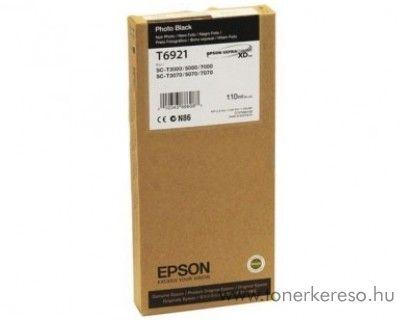Epson T6921 eredeti photo fekete black tintapatron C13T692100