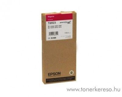 Epson T6923 eredeti magenta tintapatron C13T692300 Epson SureColor SC-T7000 tintasugaras nyomtatóhoz