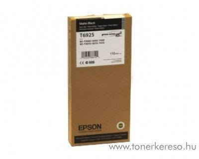Epson T6925 eredeti matt fekete black tintapatron C13T692500