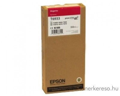 Epson T6933 eredeti magenta tintapatron C13T693300 Epson SureColor SC-T7000 tintasugaras nyomtatóhoz