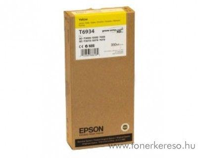 Epson T6934 eredeti yellow tintapatron C13T693400