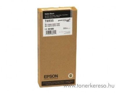 Epson T6935 eredeti matt fekete black tintapatron C13T693500 Epson SureColor SC-T7000 tintasugaras nyomtatóhoz