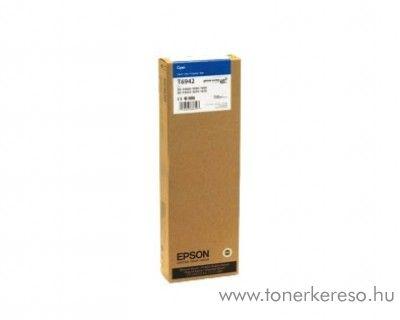 Epson T6942 eredeti cyan tintapatron C13T694200 Epson SureColor SC-T7000 tintasugaras nyomtatóhoz