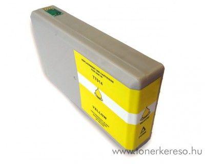 Epson T7014XXL yellow nagykapacitású utángyártott tintapatron Epson WorkForce Pro WP-4015DN tintasugaras nyomtatóhoz
