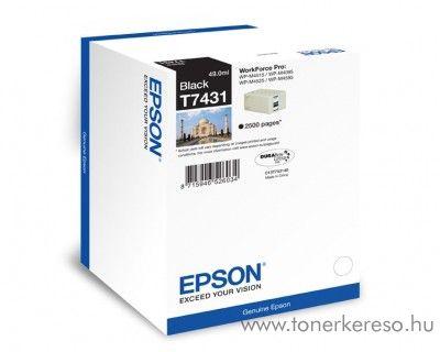Epson T7431 eredeti fekete tintapatron C13T74314010