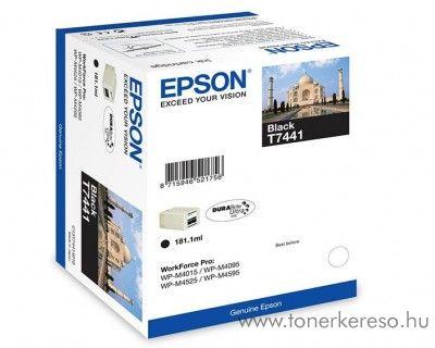 Epson T7441 eredeti fekete tintapatron C13T74414010 Epson WorkForce Pro WP-M4595DNF tintasugaras nyomtatóhoz