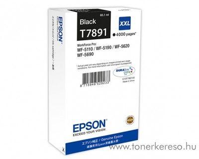 Epson T7891 eredeti fekete XXL tintapatron C13T789140