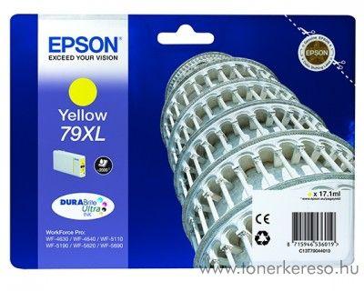 Epson T7904 eredeti yellow nagykap. tintapatron C13T79044010
