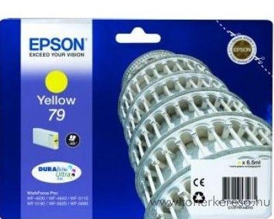 Epson T7914 eredeti yellow tintapatron C13T79144010