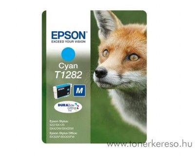 Epson Tintapatron T1282 cyan SX125/SX130/SX425 Epson Stylus Office BX305F tintasugaras nyomtatóhoz