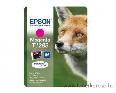 Epson Tintapatron T1283 magenta SX125/SX130/SX425 Epson Stylus SX130 tintasugaras nyomtatóhoz