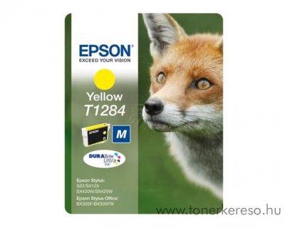 Epson Tintapatron T1284 yellow SX125/SX130/SX425 Epson Stylus Office BX305F tintasugaras nyomtatóhoz