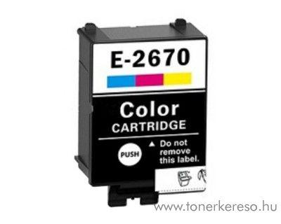 Epson WF-100W (267) utángyártott 3 színű tintapatron OBET267C