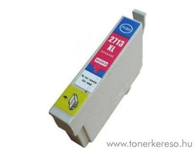 Epson WF-3620DWF utángyártott magenta tintapatron OBET2713 Epson WorkForce WF-3620DWF tintasugaras nyomtatóhoz