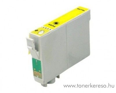 Epson WF-3620DWF utángyártott yellow tintapatron OBET2714 Epson WorkForce WF-3620DWF tintasugaras nyomtatóhoz