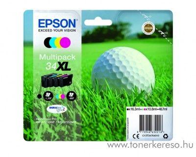 Epson WF-3720DWF eredeti BKCMY multipack csomag T34764010 Epson WorkForce Pro WF-3720DWF tintasugaras nyomtatóhoz