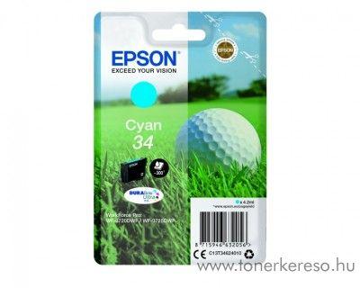 Epson WF-3720DWF eredeti cyan tintapatron T34624010 Epson WorkForce Pro WF-3720DWF tintasugaras nyomtatóhoz