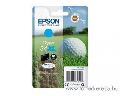 Epson WF-3720DWF eredeti cyan tintapatron T34724010 Epson WorkForce Pro WF-3720DWF tintasugaras nyomtatóhoz